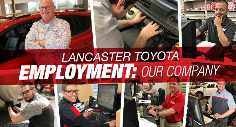 Lancaster Toyota Employment