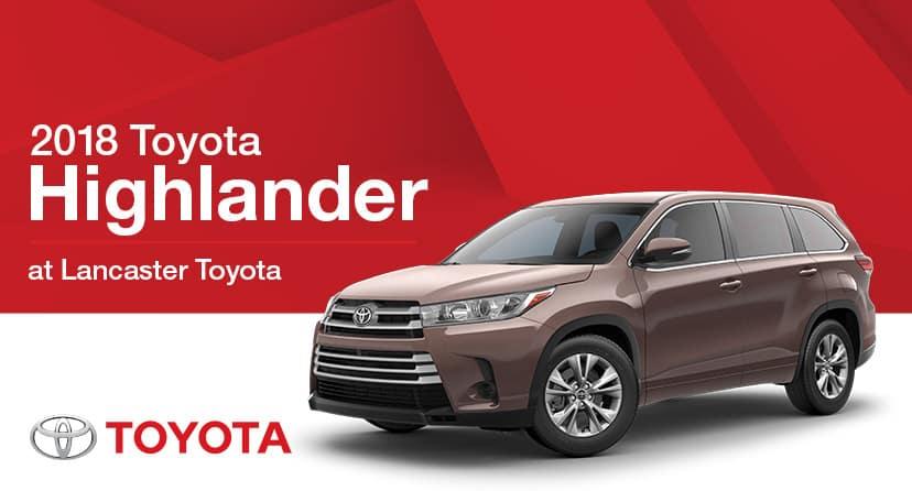 Toyota Lancaster Pa >> 2018 Toyota Highlander In Lancaster Pa Lancaster Toyota