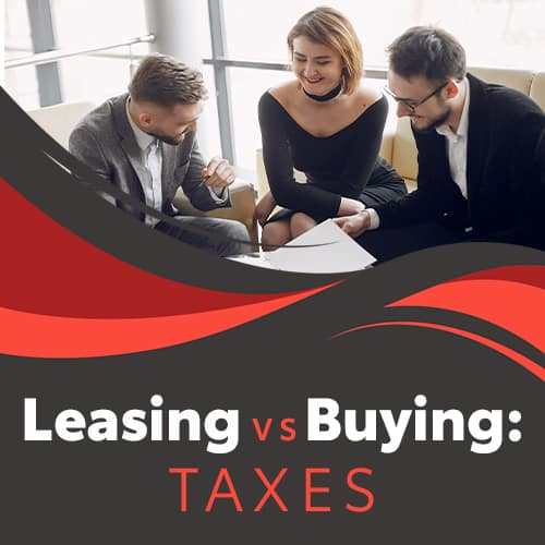 Tax advantages of leasing versus buying at Lancaster Toyota in Lancaster