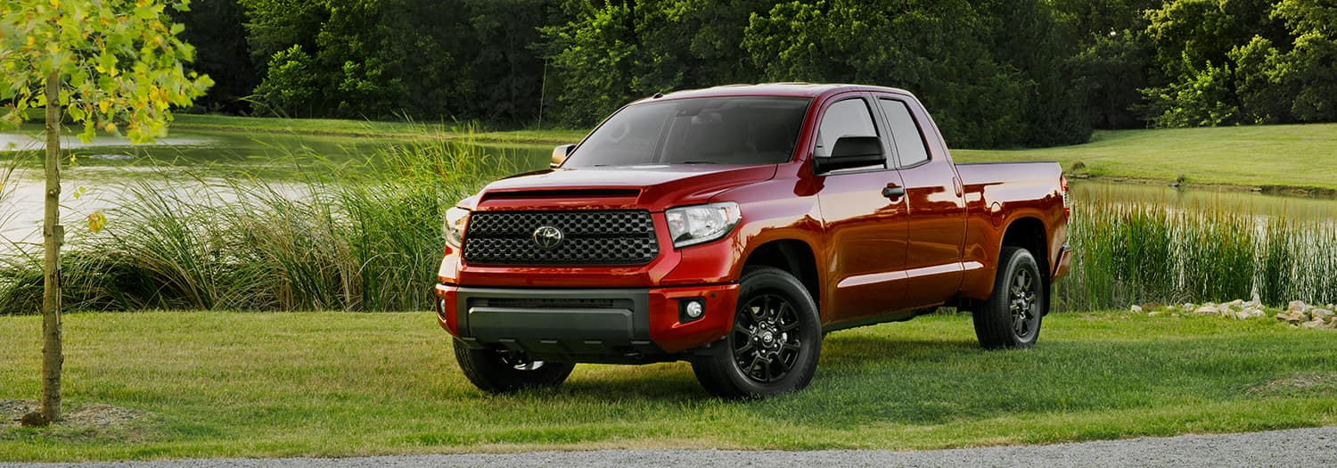 What is TRD at Lancaster Toyota | red tundra parked on grass