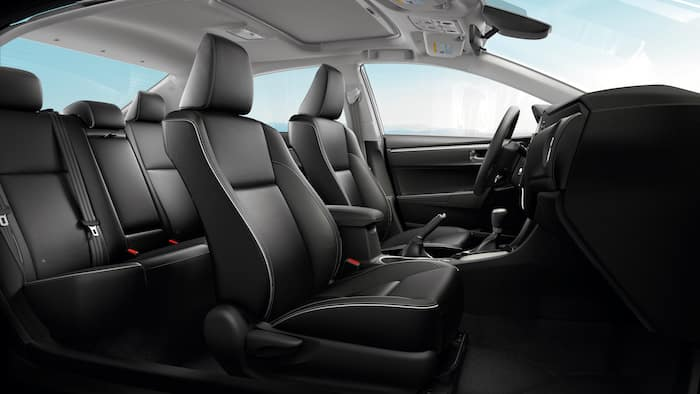 Accessories that help keep your Toyota protected at Lancaster Toyota in East Petersburg | The interior of the corolla