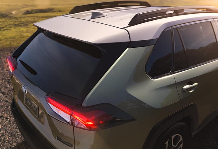Comparison of the Toyota RAV4 and the Honda CR-V crossovers at Lancaster Toyota | The tailend of the 2019 RAV4