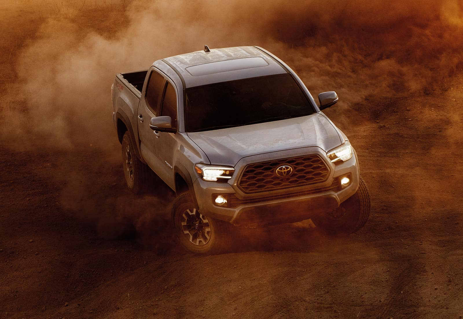 Model Features of the 2020 Toyota Tacoma at Lancaster Toyota in East Petersburg | 2020 tacoma cover in dust