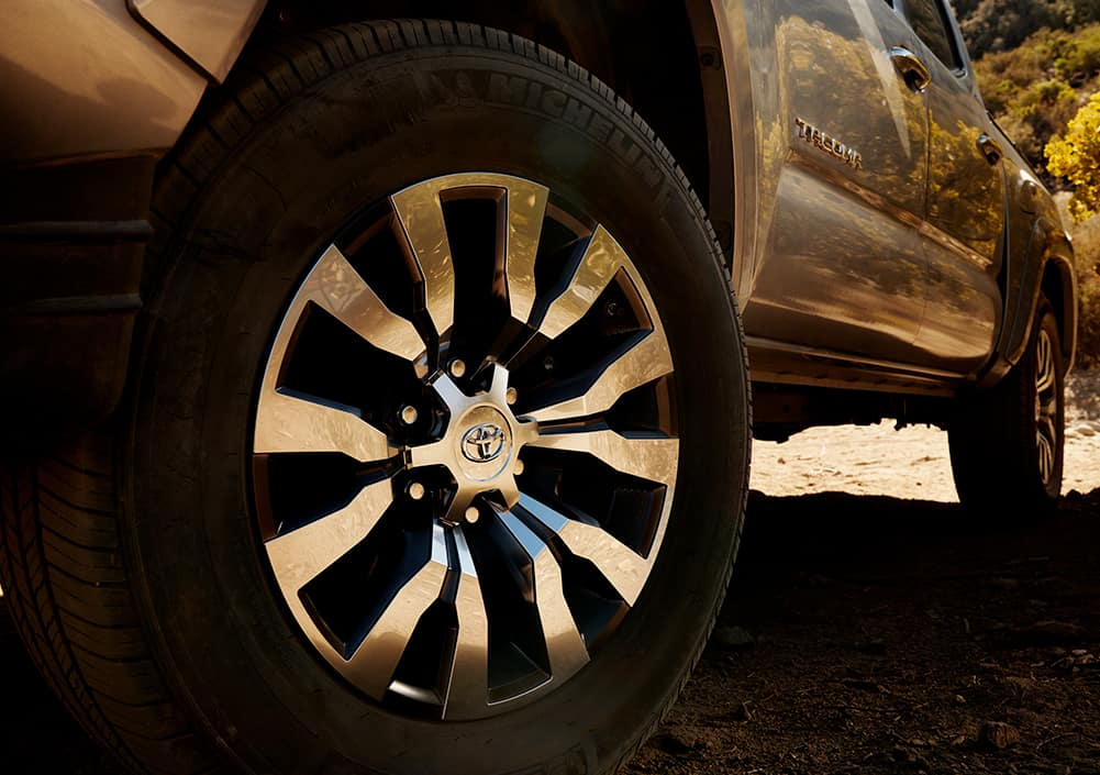 Model Features of the 2020 Toyota Tacoma at Lancaster Toyota in East Petersburg | 2020 tacoma wheels
