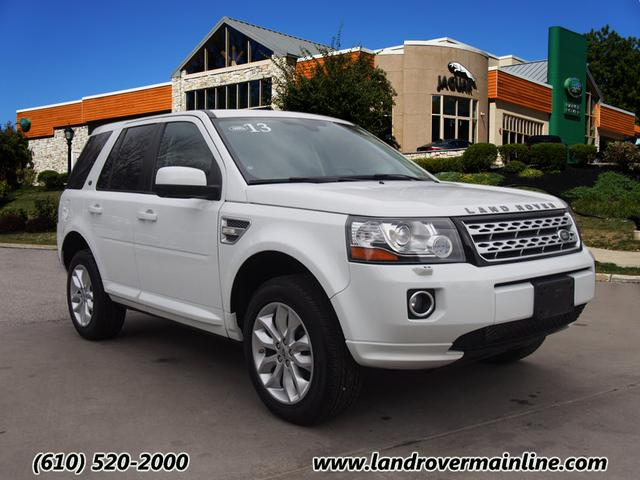 CERTIFIED PRE-OWNED 2013 LAND ROVER LR2 HSE AWD