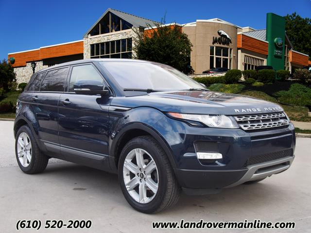 CERTIFIED PRE-OWNED 2013 LAND ROVER RANGE ROVER EVOQUE PURE PLUS AWD
