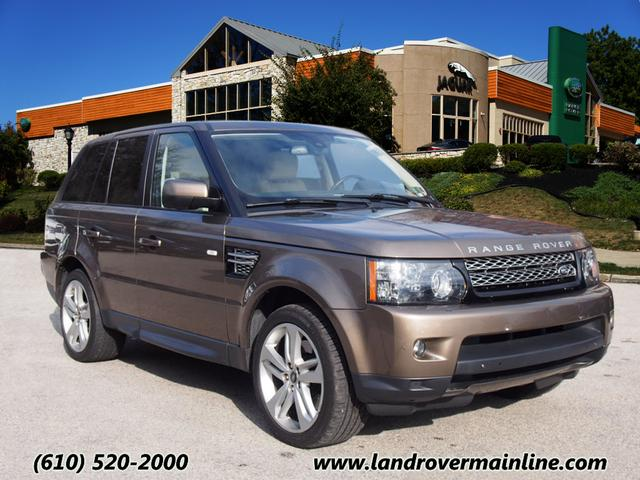 CERTIFIED PRE-OWNED 2013 LAND ROVER RANGE ROVER SPORT HSE