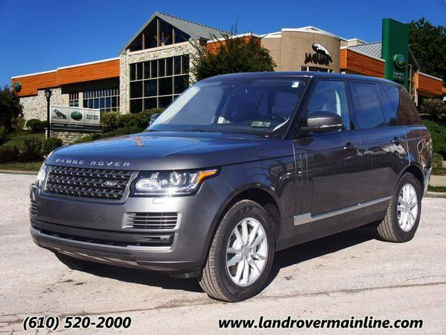 2016 LAND ROVER RANGE ROVER BASE WITH NAVIGATION & AWD