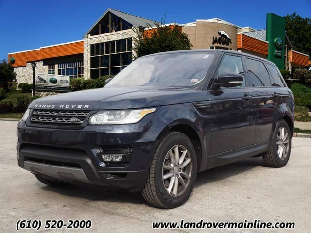 2016 LAND ROVER RANGE ROVER SPORT SE TD6 WITH NAVIGATION & AWD