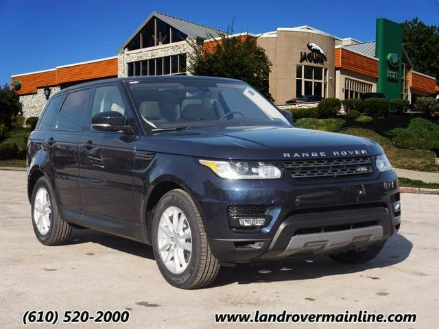 2016 LAND ROVER RANGE ROVER SPORT SE WITH NAVIGATION & AWD