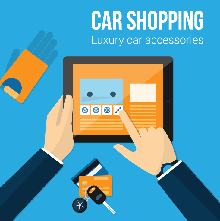 Luxury Car Accessories banner