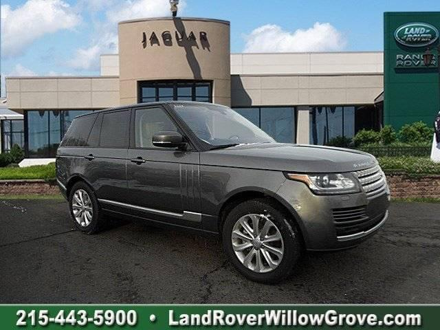 2016 LAND ROVER RANGE ROVER DIESEL HSE WITH NAVIGATION & 4WD