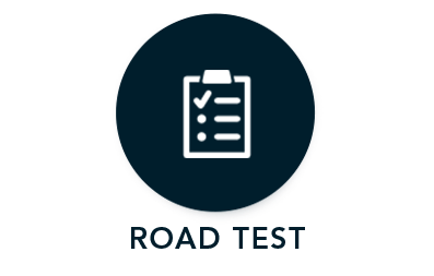 Road Test Icon