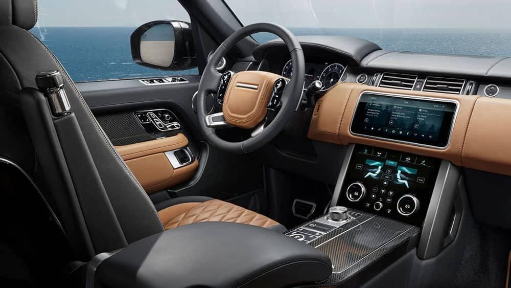 2019 Range Rover front interior
