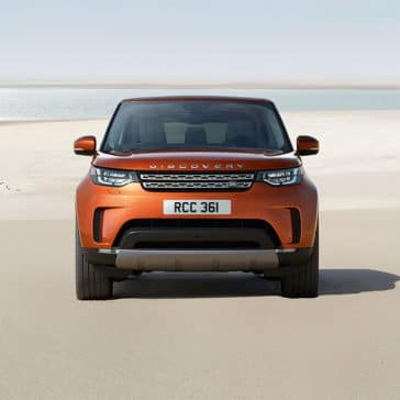 2019 Land Rover Discovery front exterior
