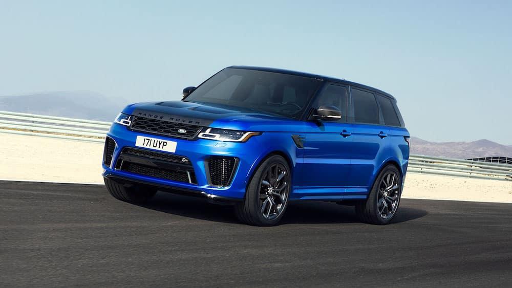 2019 Range Rover Sport SVR in Velocity