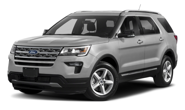 Silver Ford Explorer