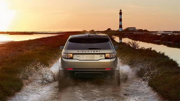 2019 Land Rover Discovery Sport Off-Roading Through Water