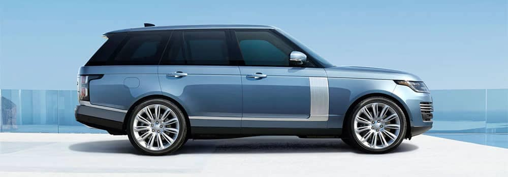 Land Rover Range Rover Side Profile View