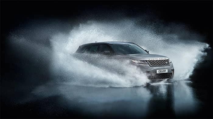 Land Rover Velar Off-Roading Through Water