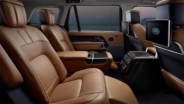 Land Rover Range Rover Interior Rear Seating