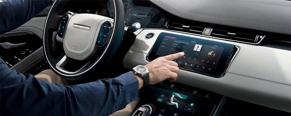 Land Rover Range Rover Evoque Interior Dashboard Area