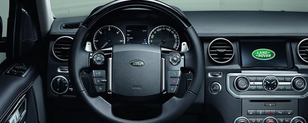 Land Rover Interior with Dash