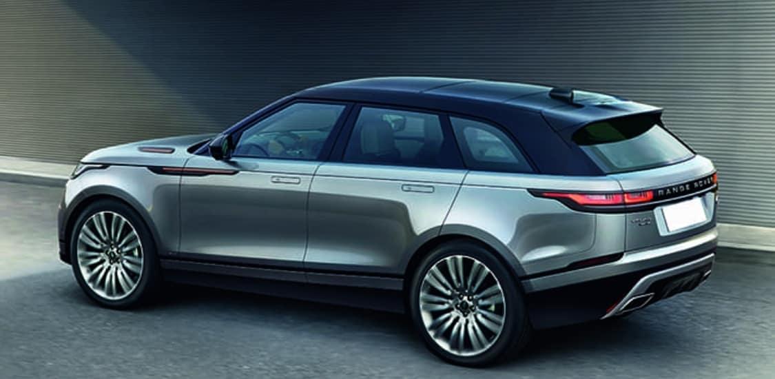 Gray 2020 Range Rover Velar