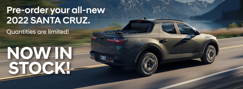 Hyundai Santa Cruz Now in Stock