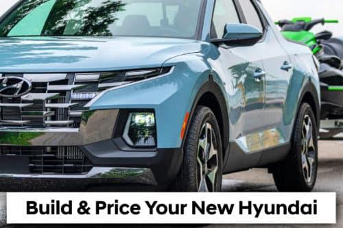 Build and price your new Hyundai
