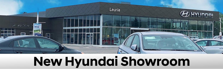 New Hyundai Showroom