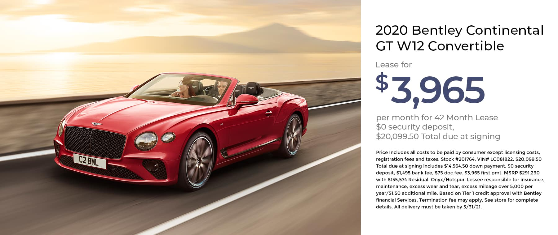 Bentley Continental GT W12 Convertible 1800×760 January 2021