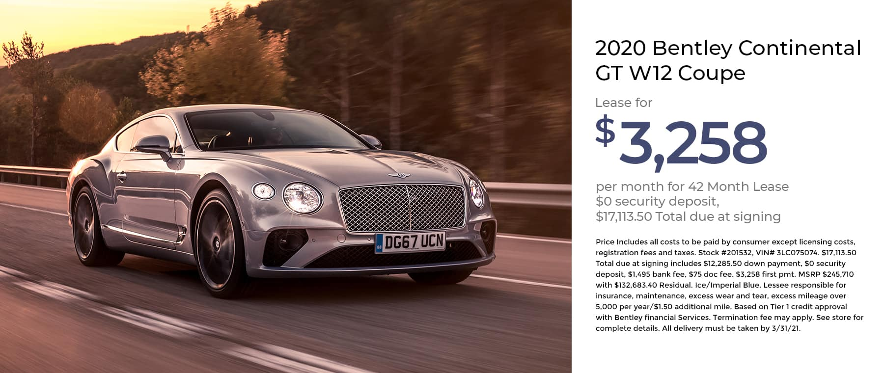 Bentley Continental GT W12 Coupe 1800×760 January 2021 (1)