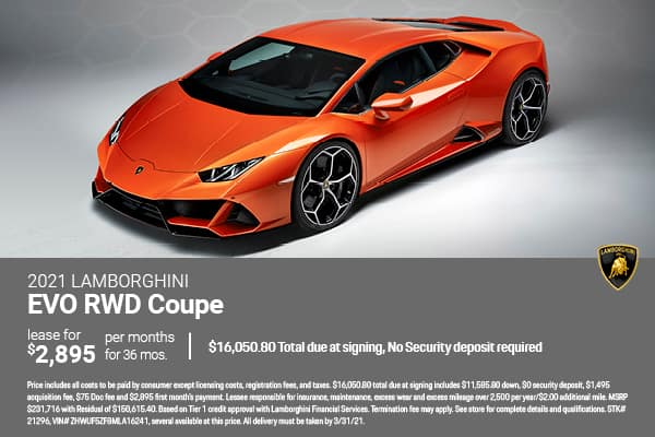 2021 Lamborghini EVO RWD Coupe