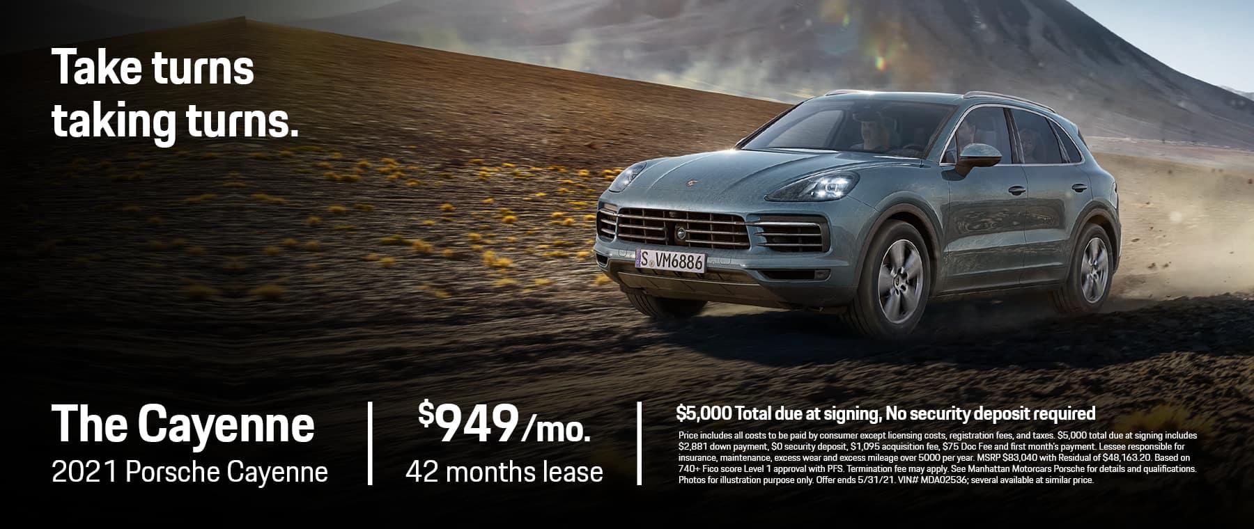 MMC Porsche 1800×760 MAY 2021 Cayenne