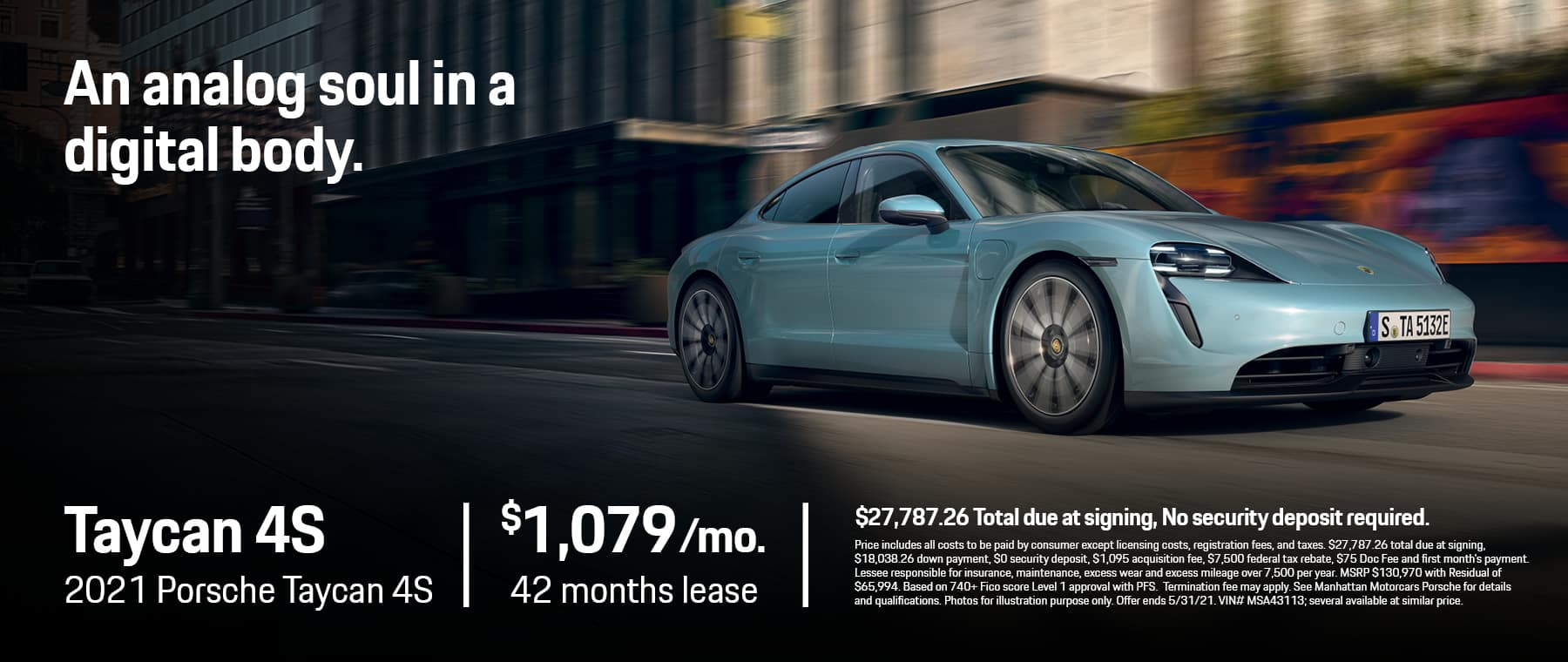 MMC Porsche 1800×760 MAY 2021 Taycan 4S