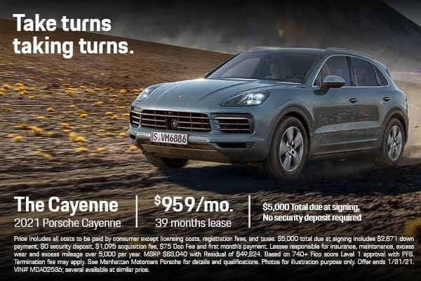 2021 Cayenne