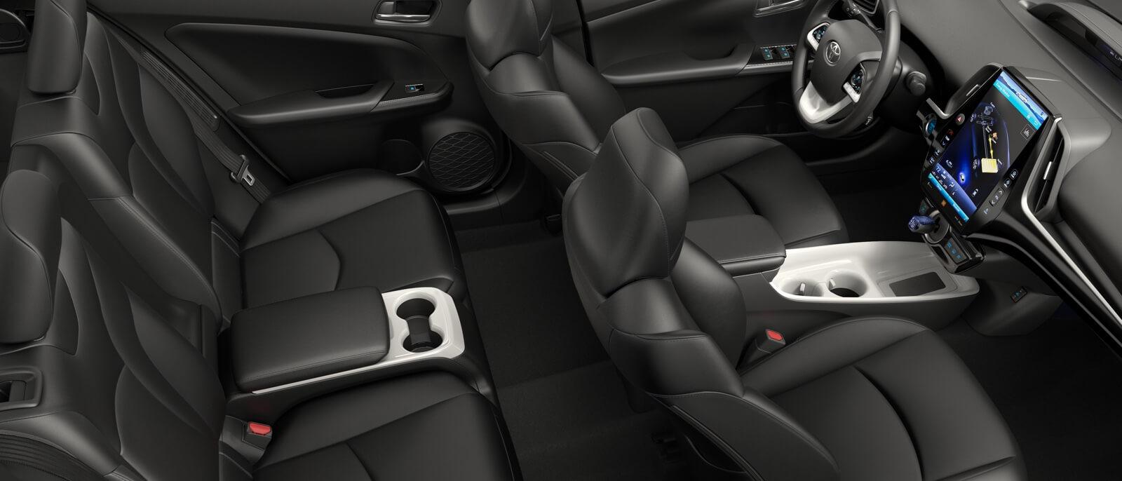 2017 Toyota Prius Prime interior seating