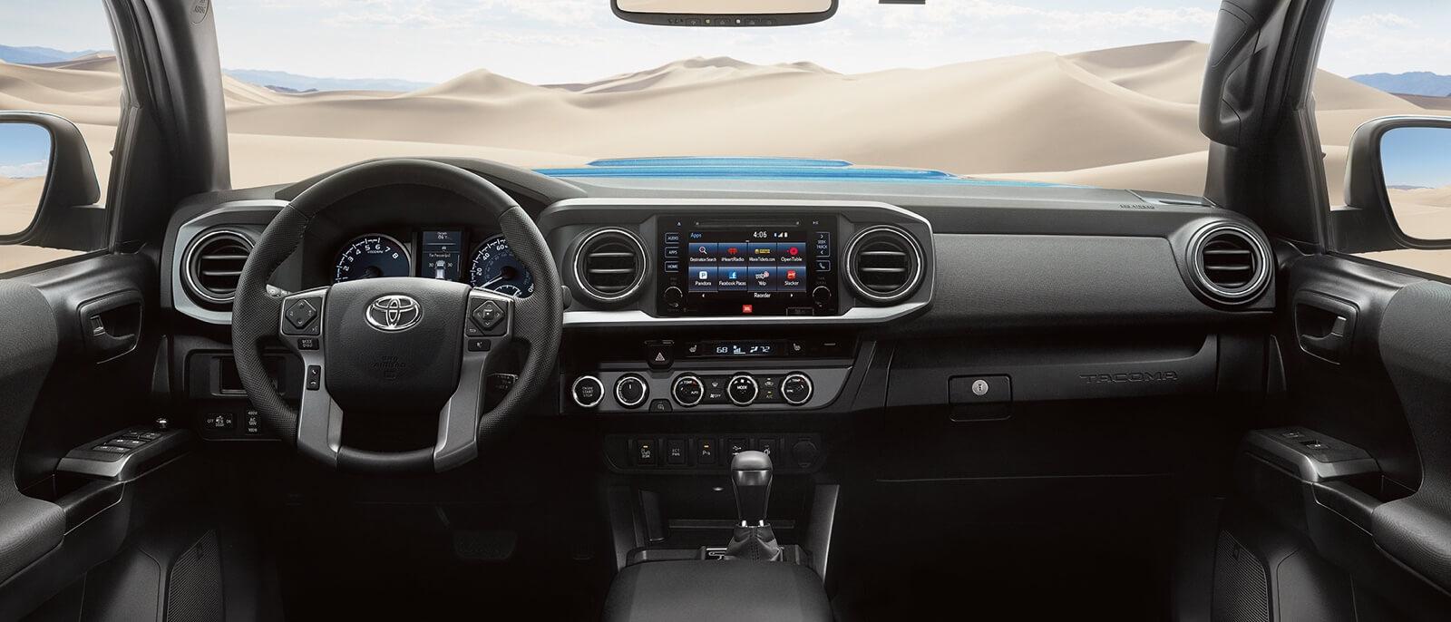2017 Toyota Tacoma front interior