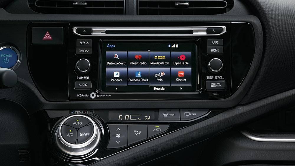 Prius c Features