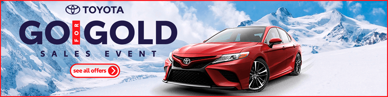 Toyota Go For Gold Sales Event
