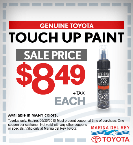 Touch up Paint $8.49 + tax each