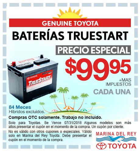 Baterias Truestart especial