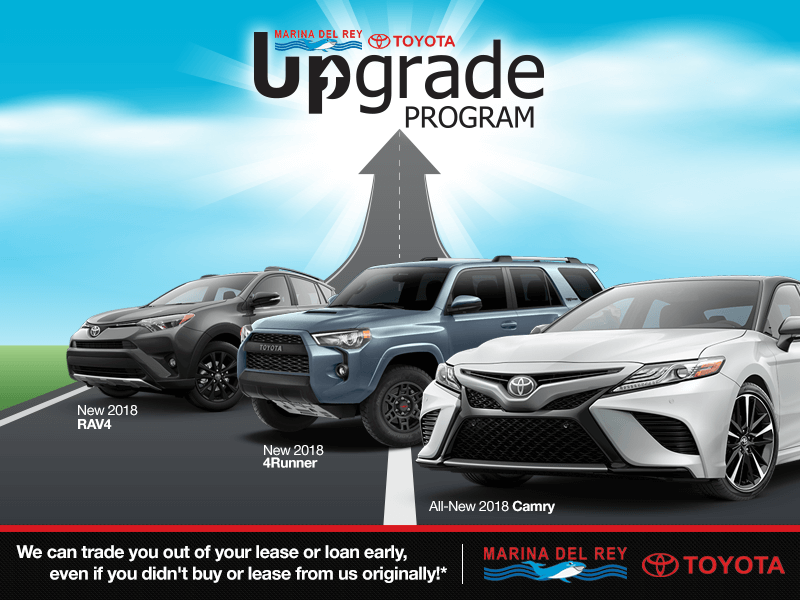 Marina del Rey Toyota Upgrade Program