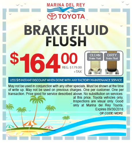 Brake Fluid Flush $164 + tax