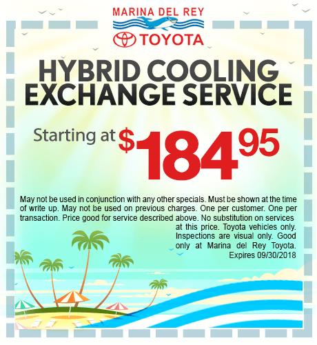 Hybrid Cooling Exchange Service $184.95