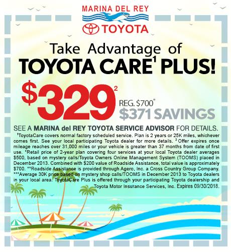 Toyota Care Plus $329