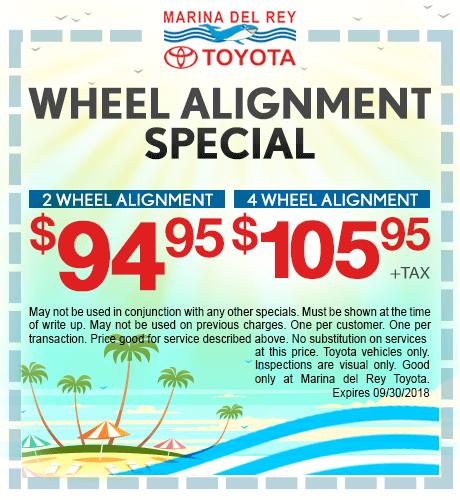 Wheel Alignment Special
