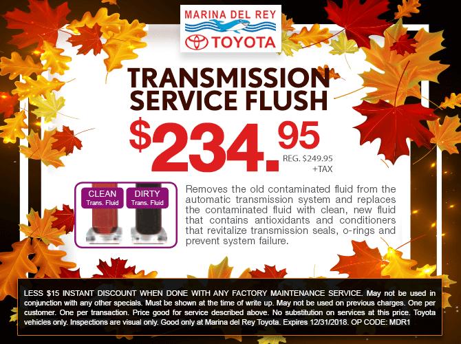 Tranmission Fluid Flush Special Offer