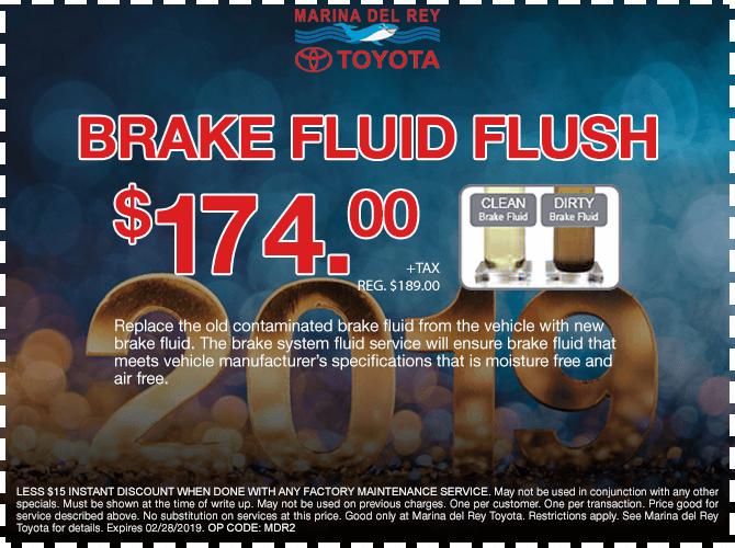 Brake Fluid Flush $174 + tax